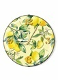 The Mia Duvar Saati - Limon Sarı 35 Cm Renkli